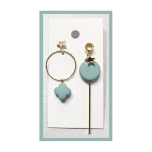 mix match earrings