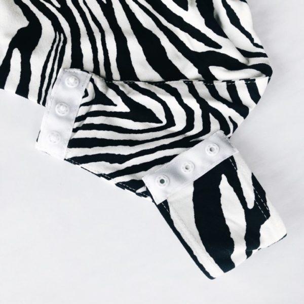 Zebra Print Bodysuit