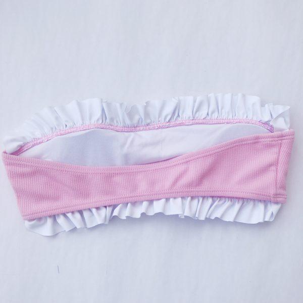 Pink Ruffle Bikini