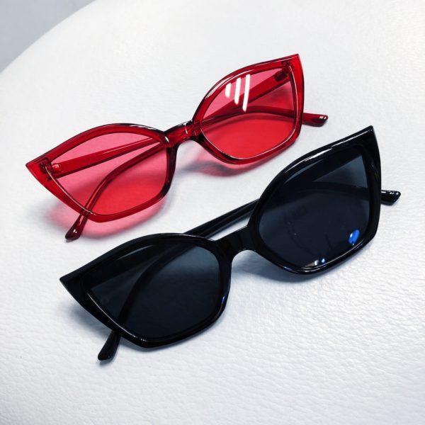 Red Cat Eye Sunglasses